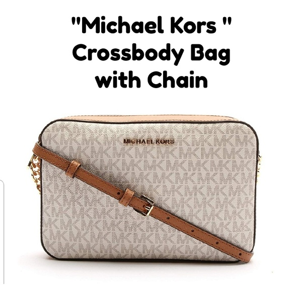 "Michael Kors Handbags - ""MICHAEL KORS "" Jet Set CROSSBODY BAG"